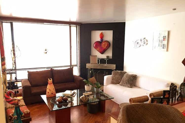 Portada Apartamento en Chico Reservado, Chico - 99mt, dos alcobas, chimenea