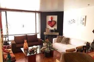 Apartamento en Chico Reservado, Chico - 99mt, dos alcobas, chimenea