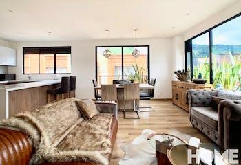 Apartamento en Santa Paula, Santa Barbara - 105mt, dos alcobas, chimenea