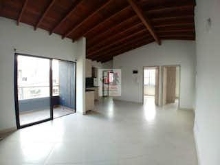 Una vista de una sala de estar y una sala de estar en Apartamento en La Paz, Envigado - Tres alcobas