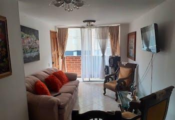 Apartamento en Restrepo Naranjo, Sabaneta - 82mt, tres alcobas, balcón