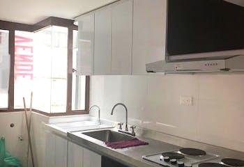 Apartamento en Marly, Teusaquillo - 48mt, dos alcobas