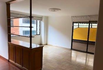 Apartamento en Chico Reservado, Chico - 169mt, tres alcobas, chimenea