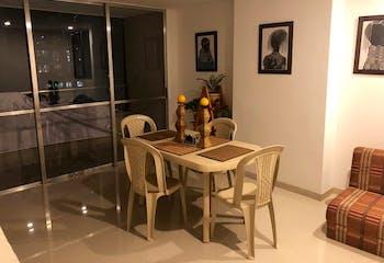 Apartamento en El Trapiche, Sabaneta - 76mt, tres alcobas, balcón