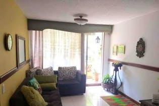 Apartamento en Loma de los Bernal, Belen - 63mt, tres alcobas, terraza