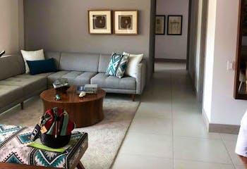 Apartamento en envigado-el esmeraldal, con 3 habitaciones-116 mt2