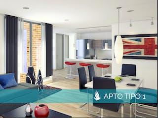 Artio 144, apartamentos sobre planos en Contador, Bogotá