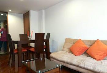 Apartamento en venta en Santa Bárbara Central de 2 alcobas