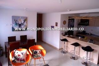 Apartamento en sector bucaros, bello, con 3 habitaciones-85mt2