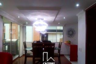 Apartamento en Cedro Golf, Cedritos - 124mt, tres alcobas, chimenea
