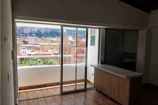Apartamento en Mesa, Envigado - 60mt, dos alcobas, balcón