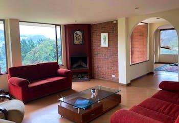 Casa, La Calera - 240mt, tres alcobas, terraza, chimenea