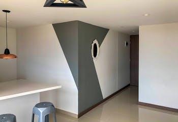 Apartamento en san Antonio de Pereira-vereda los alticos, con 2 habitaciones,54mt2