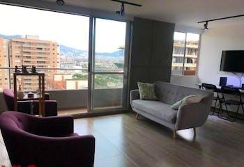 Apartamento en Ciudad del Rio-Medellín, con 2 Habitaciones - 76.9 mt2.