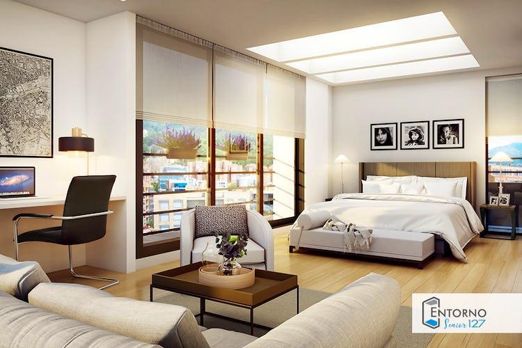 Portada Vivienda nueva, Entorno 127, Apartamentos nuevos en venta en Bella Suiza con 1 hab.