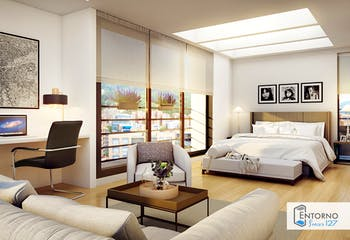 Vivienda nueva, Entorno 127, Apartamentos nuevos en venta en Bella Suiza con 1 hab.