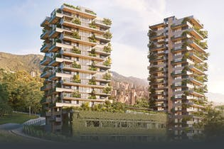 Contree, Apartamentos en venta en El Tesoro de 1-3 habitaciones