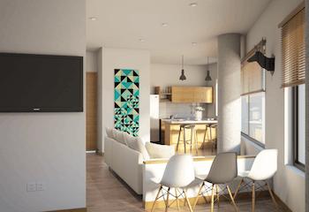 Palermo, Apartamentos en venta en Loma Del Indio de 1-3 hab.
