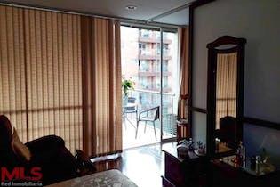 Apartamento en Conquistadores, Laureles - 50mt, tipo loft, balcón