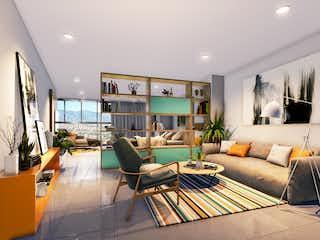 Una sala de estar llena de muebles y una televisión de pantalla plana en Aiana Verde