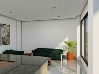 Una sala de estar llena de muebles y una planta en maceta en Elite Minuto