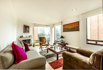 Apartamento con chimenea en Rincón del chico de 113m2