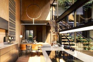 Vivienda nueva, Aguascalientes 83, Departamentos en venta en Roma con 145m²
