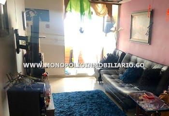 Apartamento en Rodeo Alto, Belen - 59mt, tres alcobas, balcón