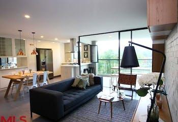 Apartamento el Loma de las Brujas, Envigado, Tierra Grata Bruja Encantadora, 3 Habitaciones- 132m2.