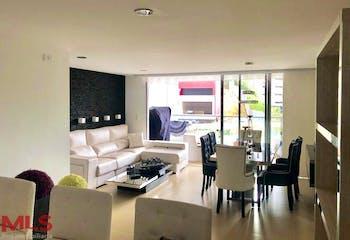 Apartamento en Envigado-Loma de las Brujas, con 3 Alcobas - 129 mt2.