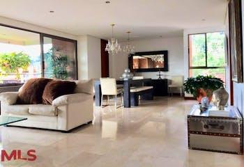 Apartamento en Las Lomas, Poblado, 4 Habitaciones- 305m2.