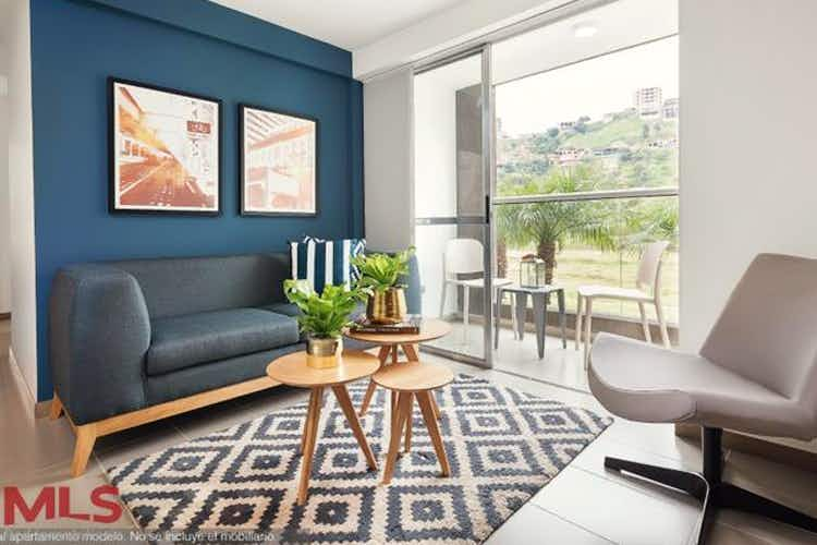 Portada Apartamento en venta en Loma de los Bernal de 63.31 mt2. con balcón
