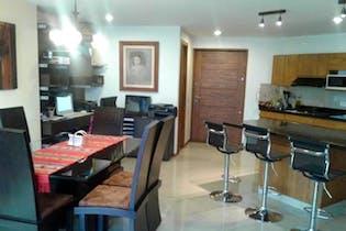 Apartamento en venta en Las Lomitas, 135mt con dos balcones.