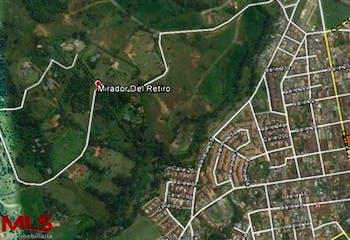 Mirador del Retiro, Lote en venta en Casco Urbano El Retiro de 7640m²