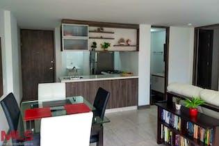 Apartamento en el Salado, Envigado, Verdun, 2 Habitaciones- 60,12m2.