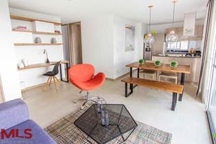 Apartamento en Ojo de Agua, Rionegro - 74mt, tres alcobas, balcon