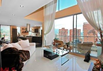 Apartamento en Loma de Benedictinos, Envigado, 2 Habitaciones- 161,99m2.