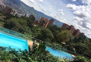 Apartamento en Loma del Indio, Poblado, 3 Habitaciones- 86,47m2.