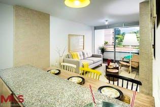 Apartamento de 72m2 en Villa del Parque, Itagüí - con 3 habitaciones