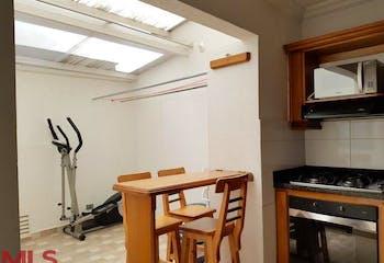 Apartamento en Mesa, Envigado - 101mt, cuatro alcobas, balcón