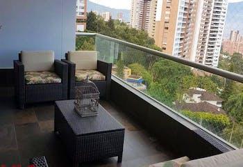 Apartamento en Las Palmas-El Poblado, con 3 Alcobas - 156,4 mt2.