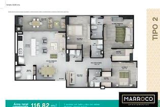 Marroco, Apartamento en venta en El Esmeraldal con Gimnasio...