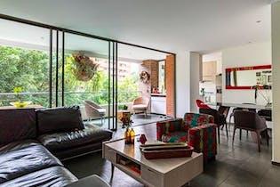 Apartamento en La Tomatera, El Poblado con 2 habitaciones y balcón - 126 mt2.