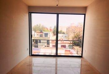 Departamento en venta, 116 m2 en Narvarte Poniente con roof garden