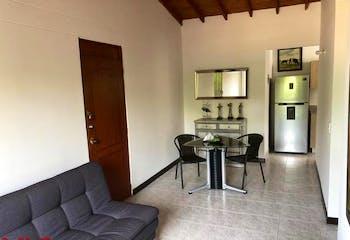 Apartamento en El Esmeraldal, Envigado, 3 Habitaciones- 60,9m2.