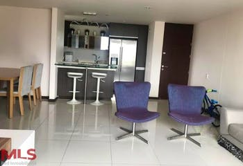 Apartamento en El Esmeraldal-Envigado, con 2 Habitaciones - 85.7 mt2.