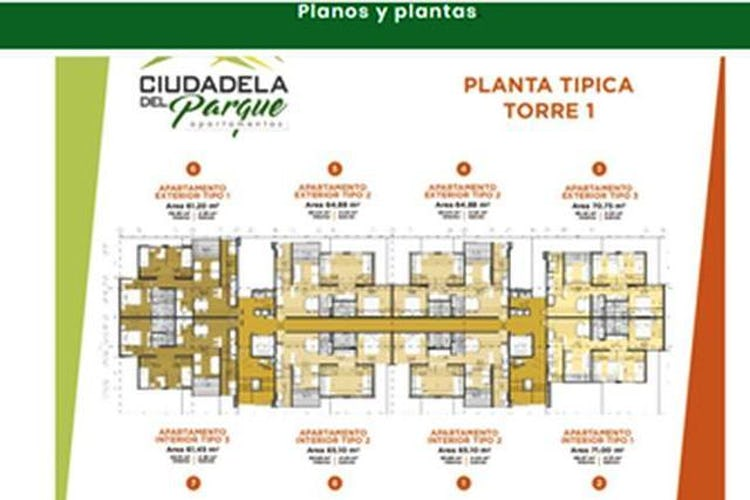 Foto 5 de Apartamento en Itagui, Santa Maria - 60mt, dos alcobas, balcón