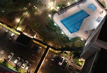Apartamento en Loma de los Bernal, Belen - 62mt, dos alcobas, balcón