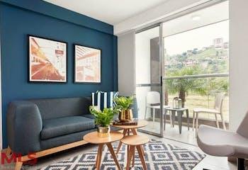 Apartamento en La Loma de los Bernal-Medellín, con 3 Habitaciones - 65 mt2.