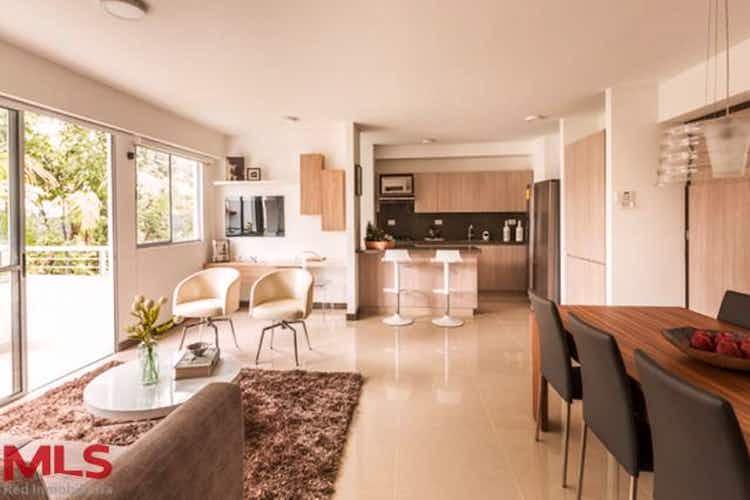 Portada Apartamento en venta en Niquia, 71mt con balcon.